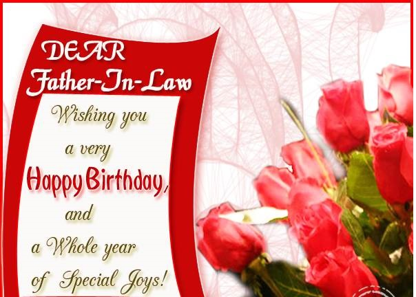 birthday message for father in marathi ; Birthday-Wishes-For-Father-In-Law-Image519