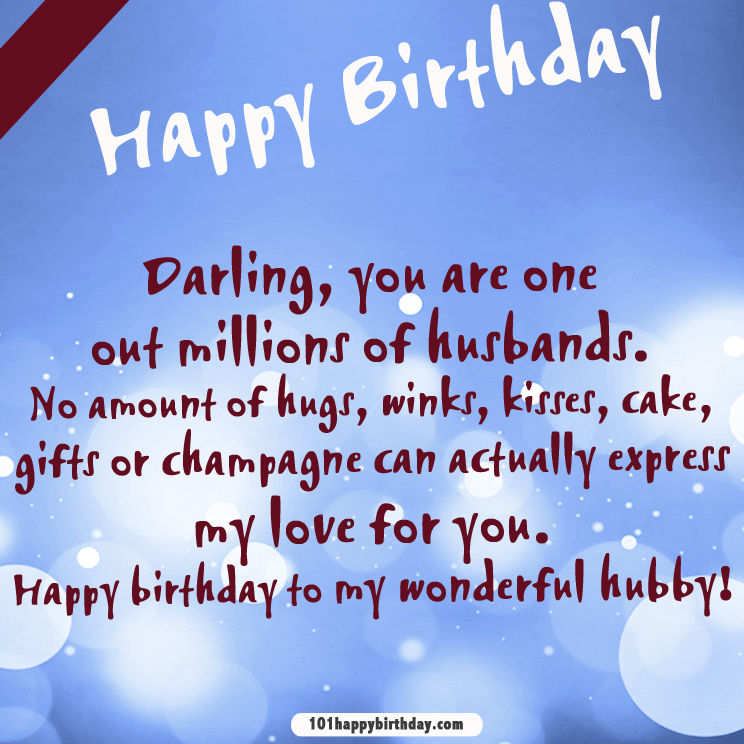 birthday message for husband in hindi ; Youre-one-out-of-millions-of-husband-happy-birthday