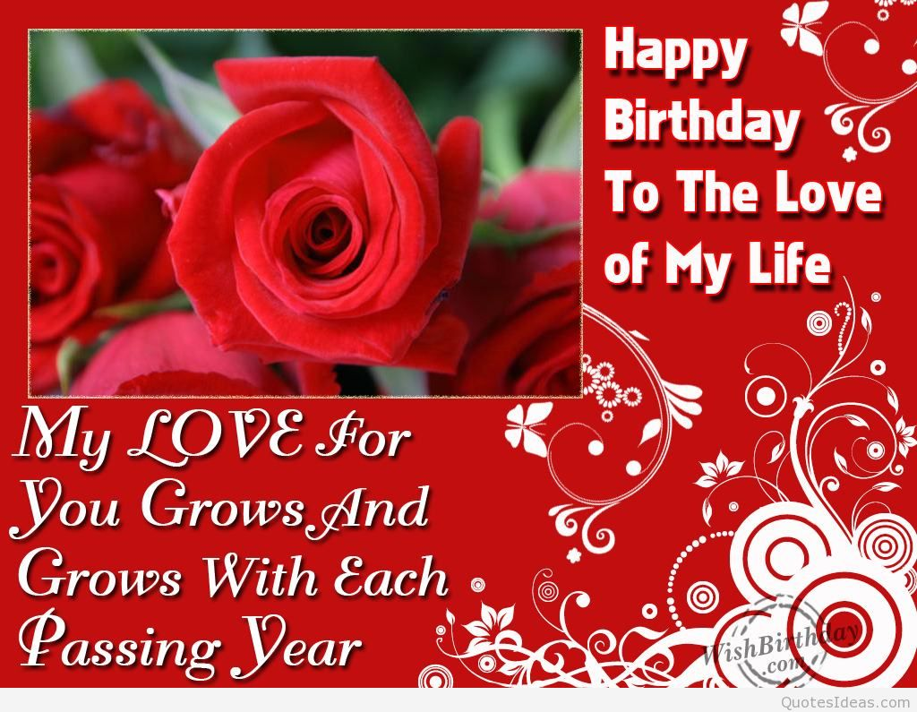birthday message for love of my life ; Happy-birthday-to-my-love-my-life-message