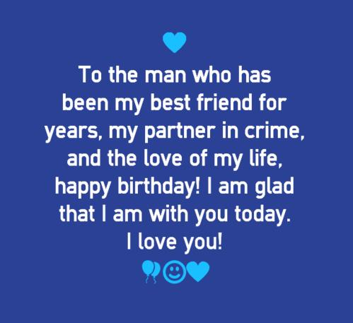 birthday message for love of my life ; happy-Birthday-Quotes-for-Boyfriend-wishes-messages