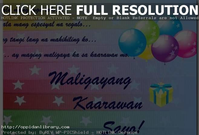 birthday message for mother in tagalog ; Message-for-Mother-Tagalog