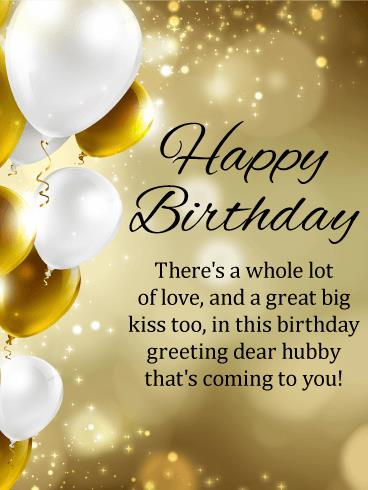 birthday message for my lovely husband ; b_day_fhb06