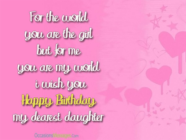 birthday message for my parents ; birthday-wishes-for-daughter-from-mom