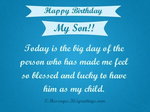 birthday message for my son ; 90aeacf9283675cdf11d744c282174ed