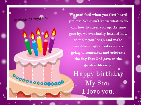 birthday message for my son ; birthday-messages-wishes-for-son