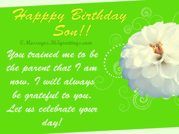 birthday message for my son ; happy-birthday-messages-for-son