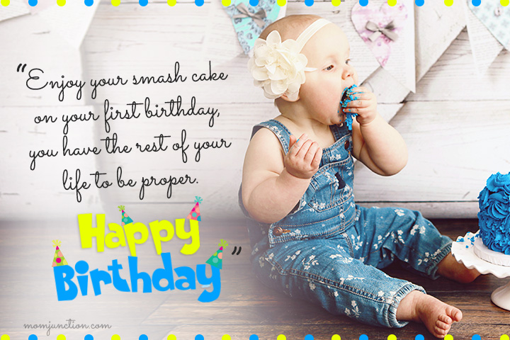 birthday message for my son turning 1 ; 1st-Birthday-Wishes-For-Daughter12