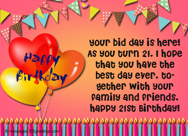 birthday message for my son turning 1 ; 21st-birthday-wishes-Messages-and-greetings-01