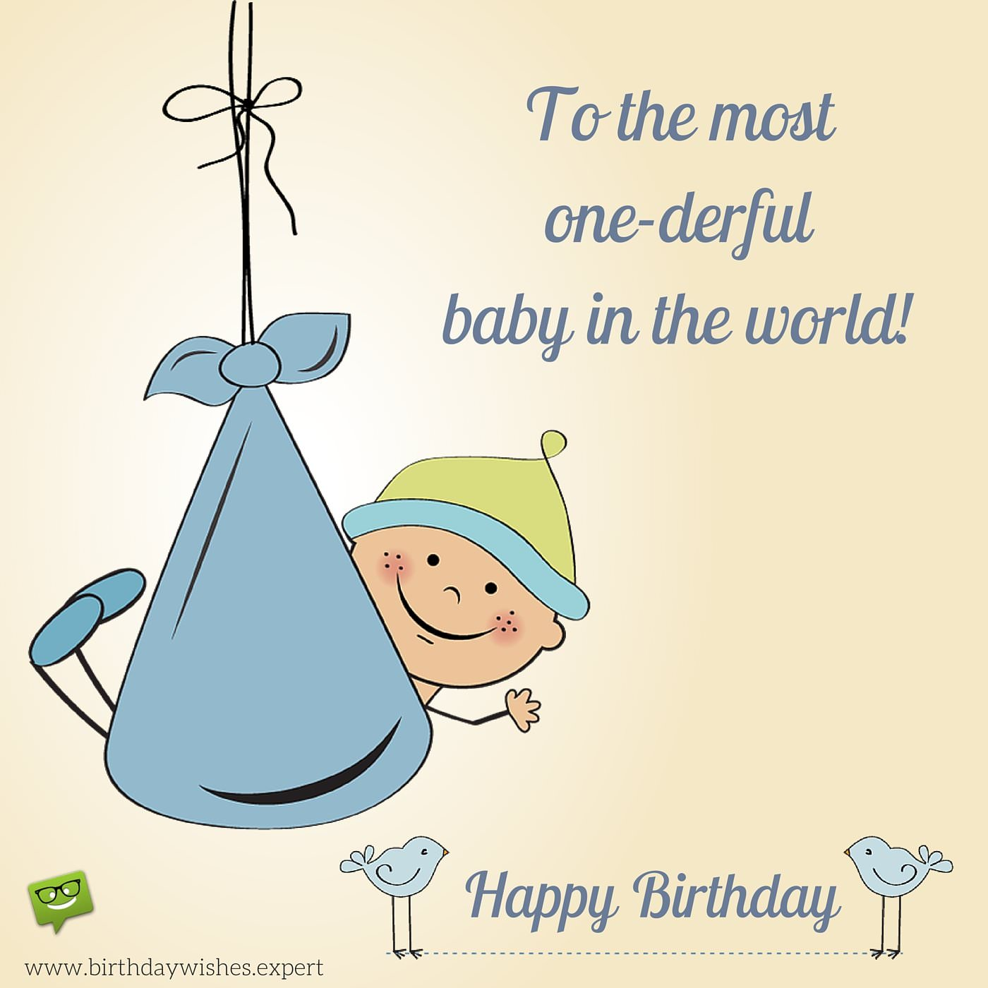 birthday message for my son turning 1 ; Happy-Birthday-to-the-most-wonderful-one-year-old-in-the-whole-world