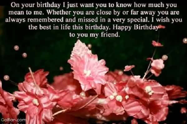 birthday message for my wife far away ; Best-Message-Birthday-Wishes-For-Far-Away
