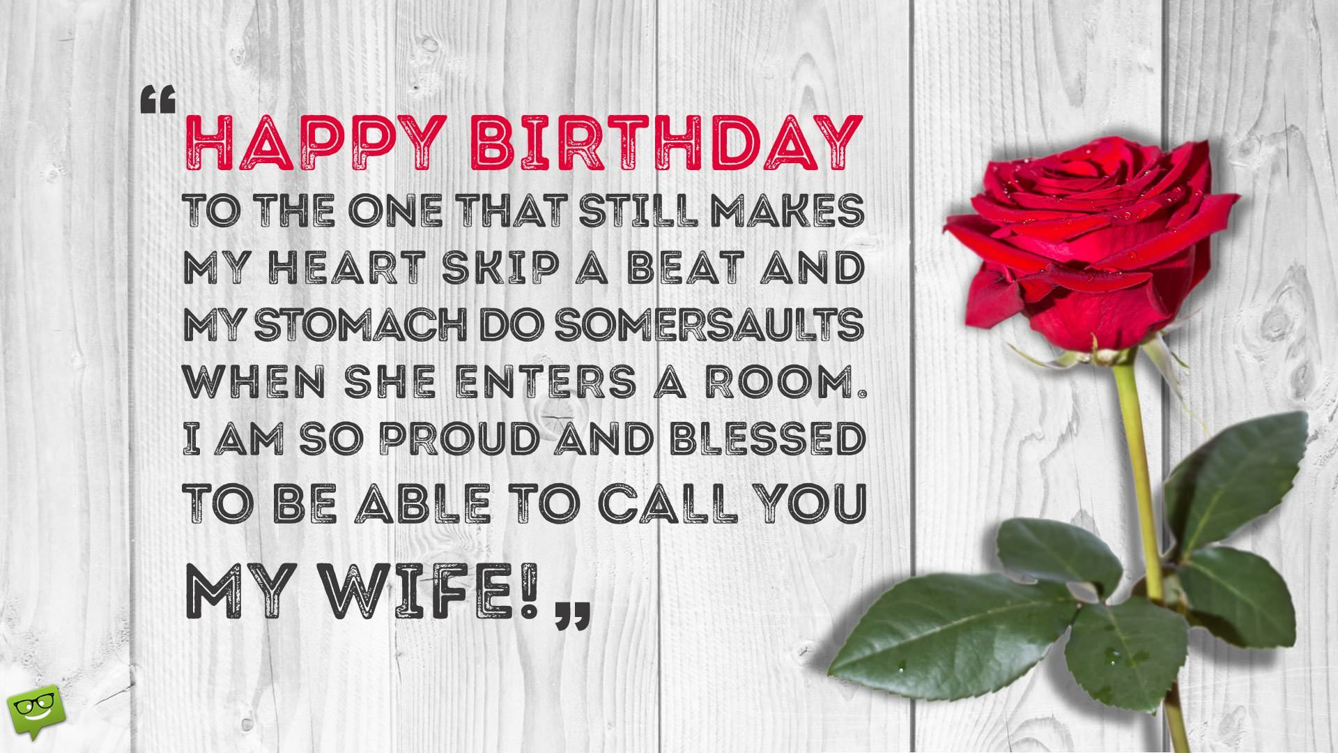 birthday message for my wife far away ; Romantic-wife-flower-on-tab