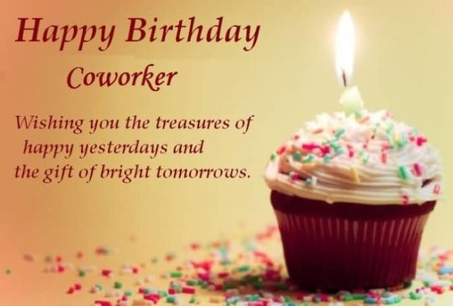birthday message for office colleague ; Birthday-Wishes-For-Colleague-Image46367