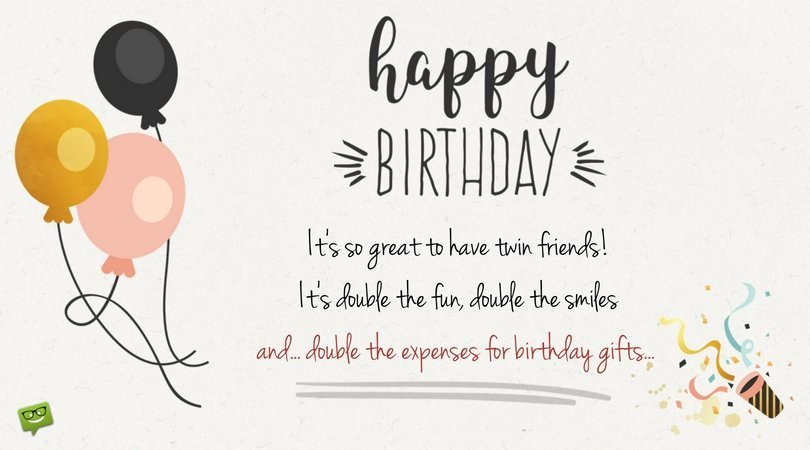 birthday message for self tumblr ; Funny-birthday-wish-for-twins