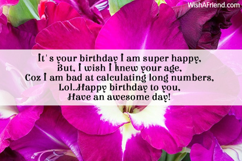 birthday message for superior ; 7738-funny-birthday-wishes