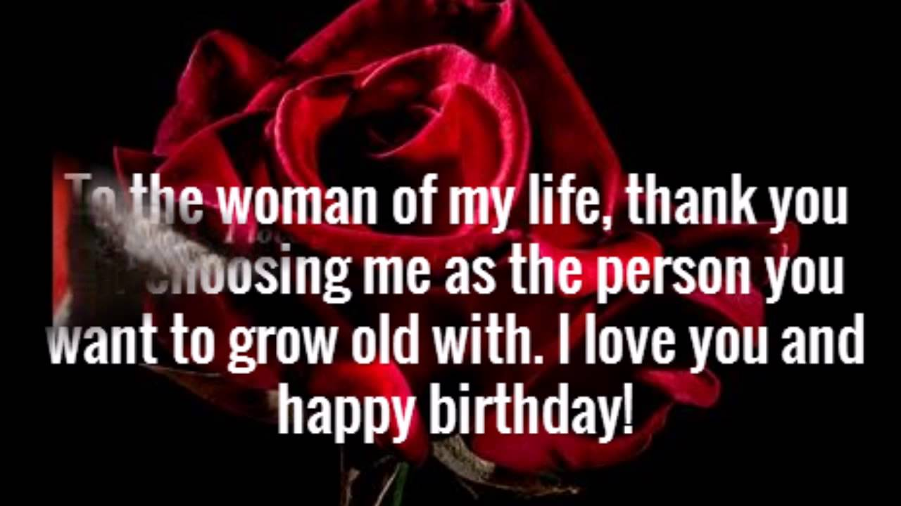 birthday message for wife in english ; maxresdefault