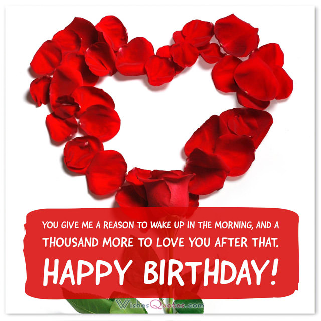 birthday message for your love ; Birthday-Love-Wishes
