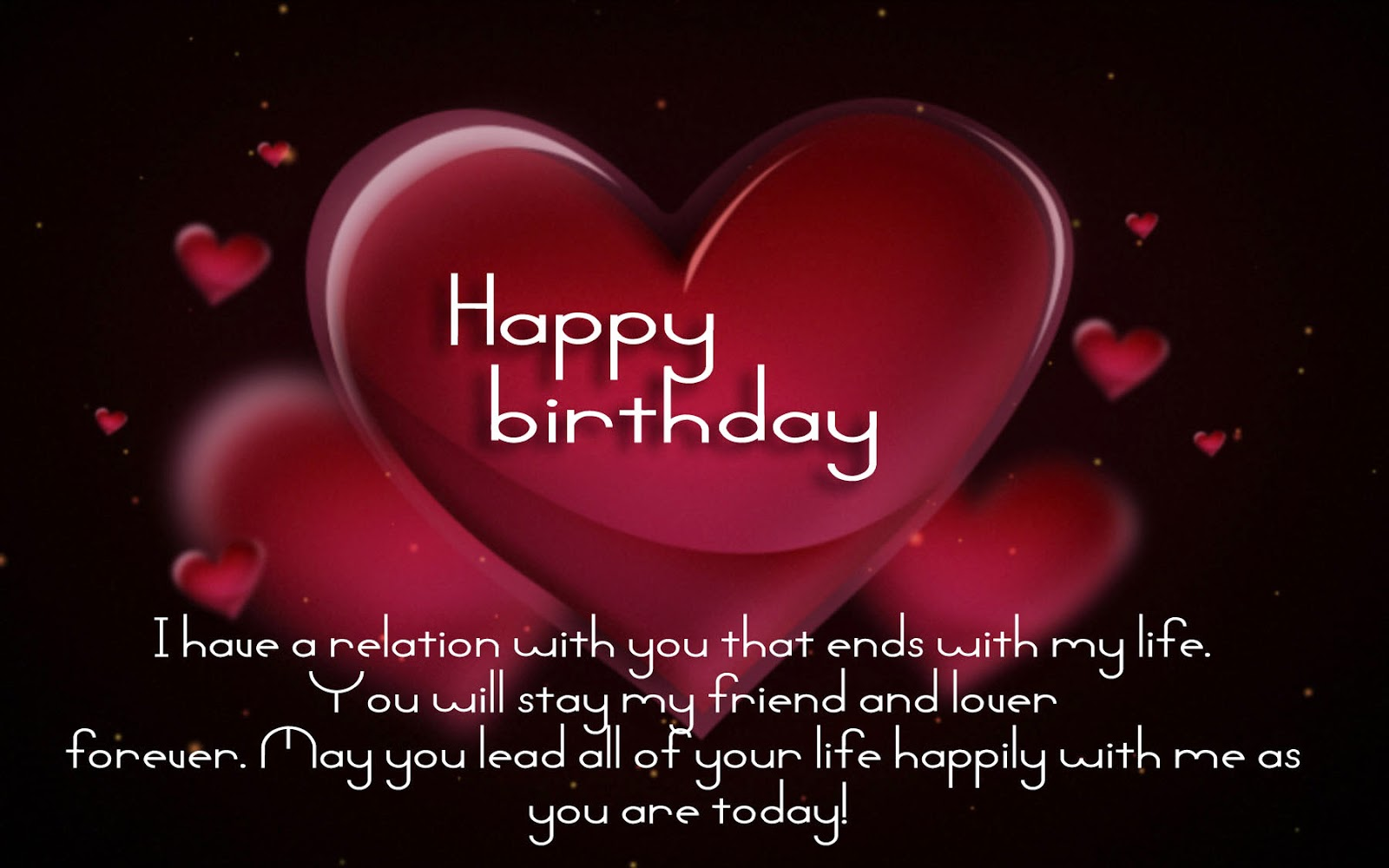 birthday message for your love ; happy-birthday-quotes-image-free-wallpaper