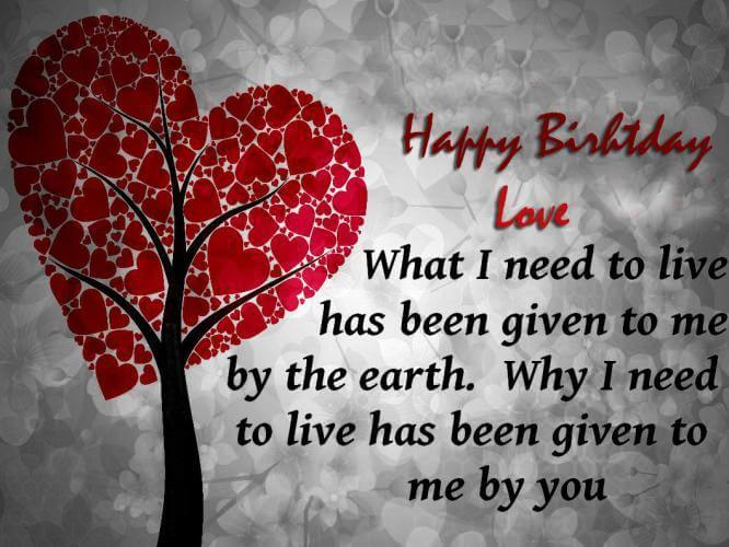 birthday message for your love ; romantic-birthday-quotes-for-boyfriend-2
