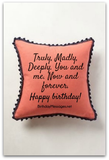 birthday message for your love ; romantic-birthday-wishes-10B