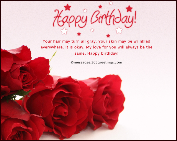 birthday message for your love ; romantic-birthday-wishes-for-your-love