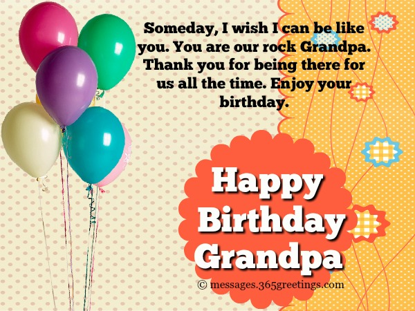birthday message from all of us ; happy-birthday-messages-for-grandpa