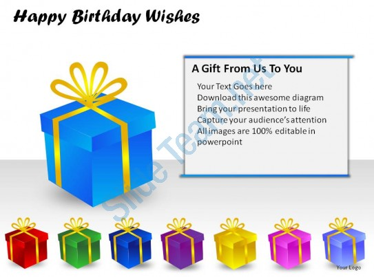 birthday message from all of us ; happy_birthday_wishes_powerpoint_presentation_slides_Slide06