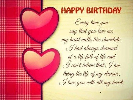 birthday message love boyfriend ; 0de682a5358a6994c245a6d047e2c16b