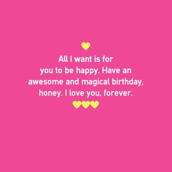 birthday message love boyfriend ; romantic-birthday-wishes-messages