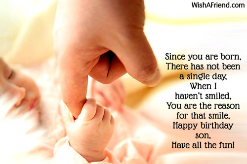 birthday message to a baby son ; 2873-son-birthday-wishes