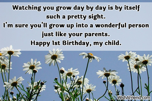 birthday message to a baby son ; 546-1st-birthday-wishes