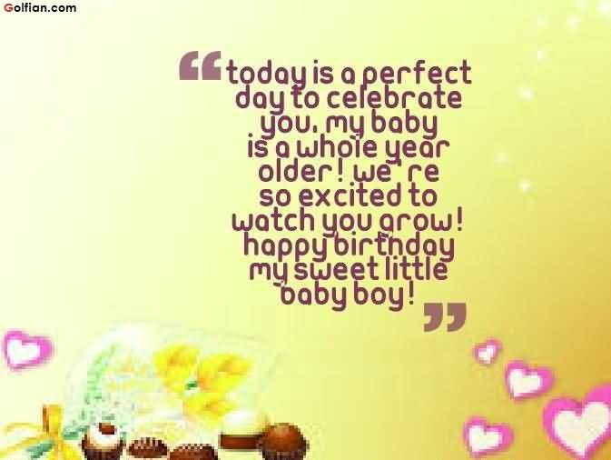 birthday message to a baby son ; Awesome-Birthday-Wishes-For-Baby-Boy-Greetings