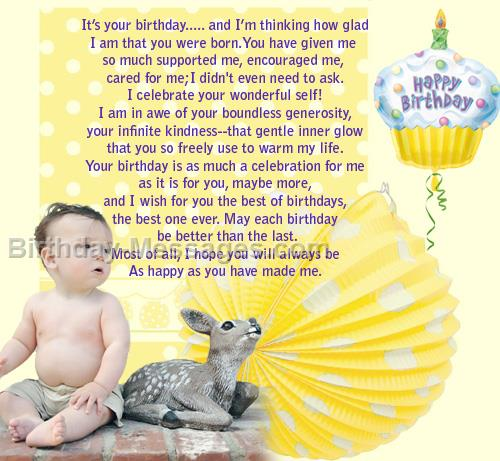 birthday message to a baby son ; birthday-message-for-baby-boy-sweet-baby-birthday774