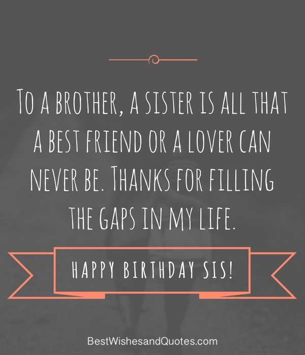 birthday message to a big brother ; happy-birthday-sister-poem