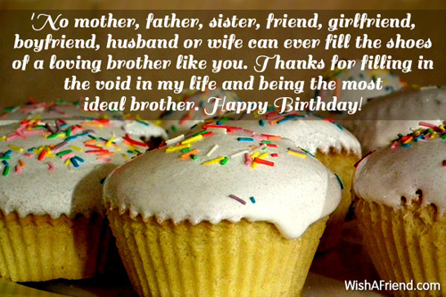 birthday message to a brother from another mother ; 1093-brother-birthday-wishes