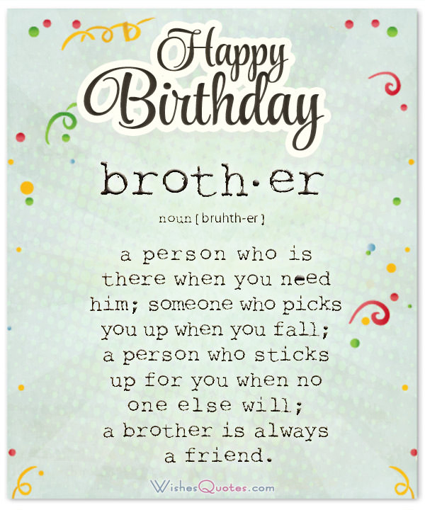 birthday message to a brother from another mother ; what-is-a-borther-Happy-Birthday