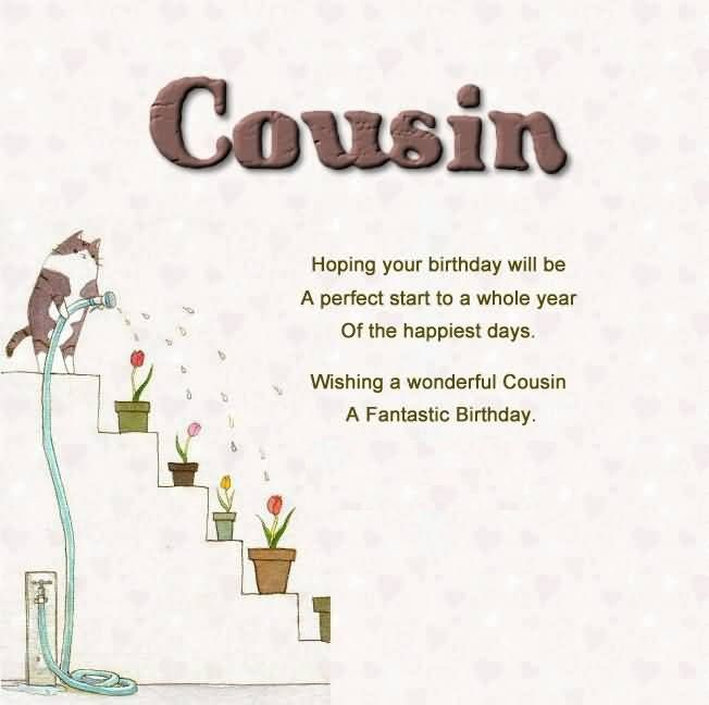 birthday message to a cousin sister ; 3b6aad01870cf7dc9271b4bf45afed18