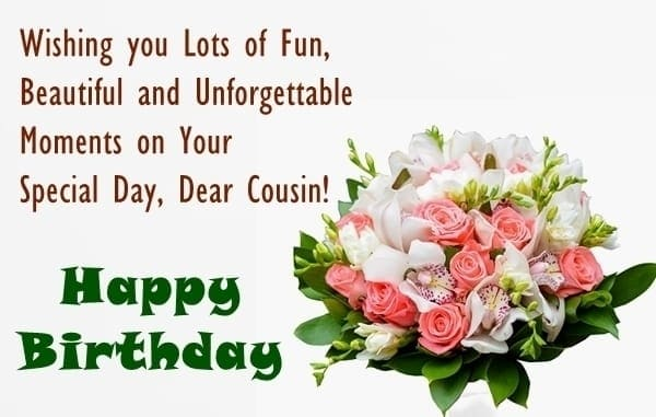 birthday message to a cousin sister ; birthday-wishes-for-cousin-sister-2-min-min