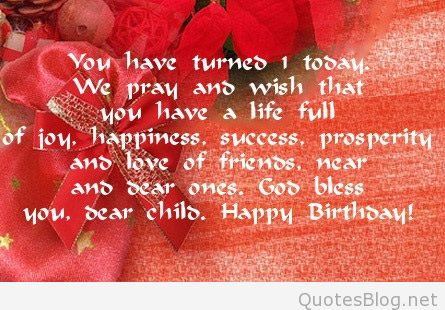 birthday message to a loved one ; 1228-1st-birthday-wishes
