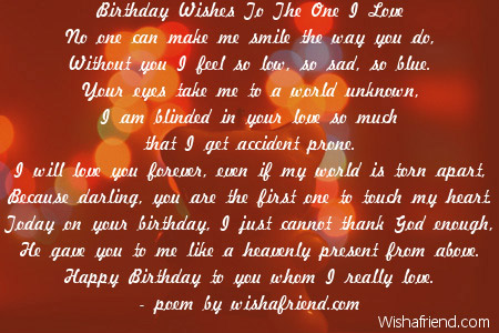 birthday message to a loved one ; 1937-love-birthday-poems