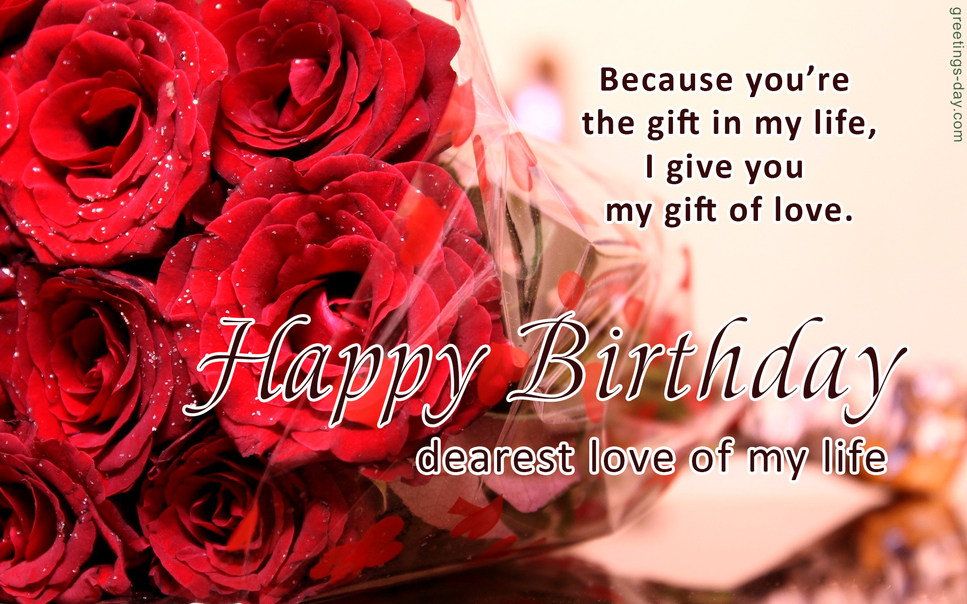 birthday message to a loved one ; happy-birthday-my-love