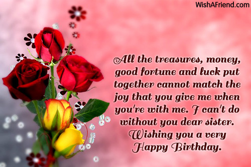 birthday message to a lovely sister ; 1132-sister-birthday-wishes