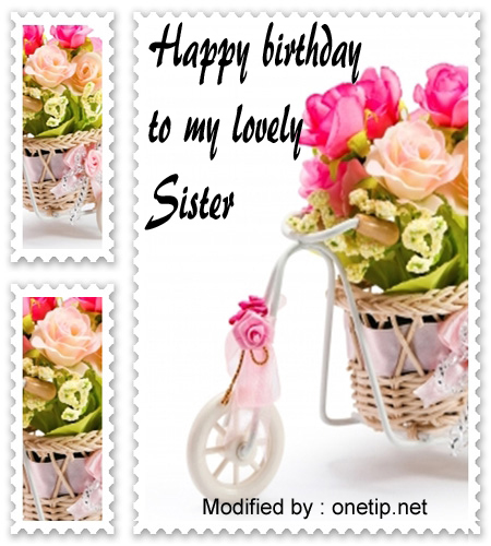 birthday message to a lovely sister ; happy-birthday-sister2