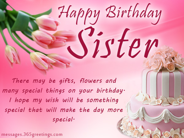 birthday message to a lovely sister ; sister-birthday1r