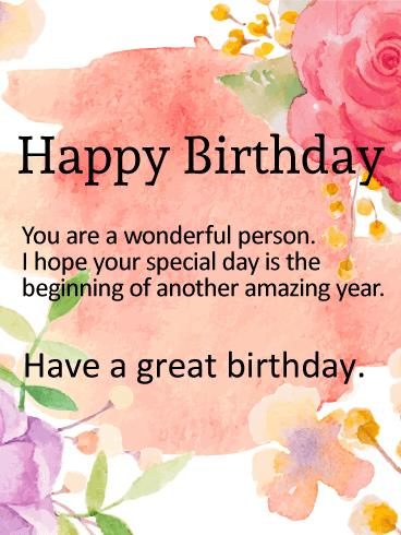 birthday message to a special lady ; b_day141-a76a10a766ccff663328aeae28ee4913