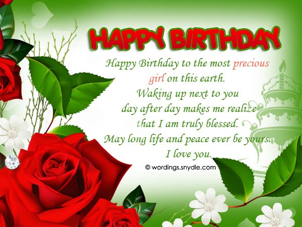 birthday message to a special lady ; birthday-messages-for-wife