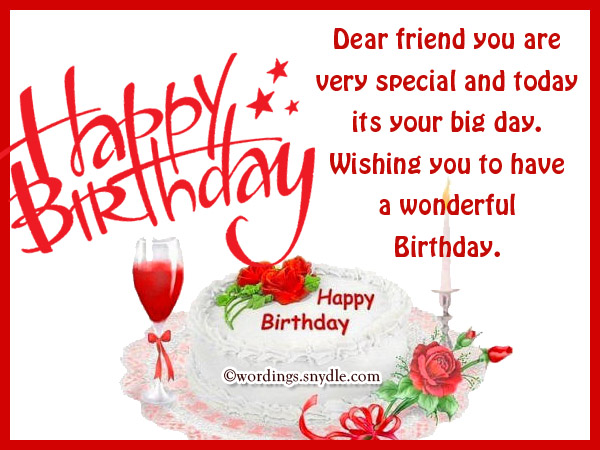 birthday message to a very good friend ; happy-birthday-wishes-for-friend-24
