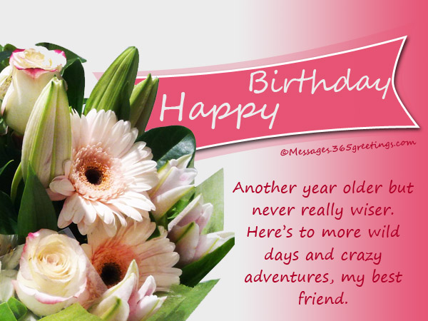 birthday message to a very good friend ; inspirational-birthday-messages
