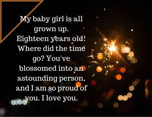 birthday message to baby daughter ; 13862309_f520