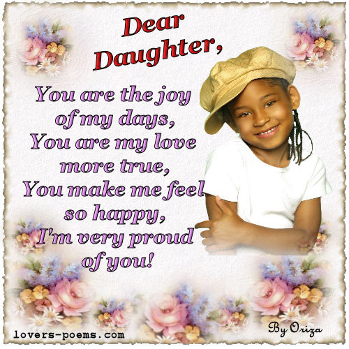 birthday message to baby daughter ; 9-daughter-3