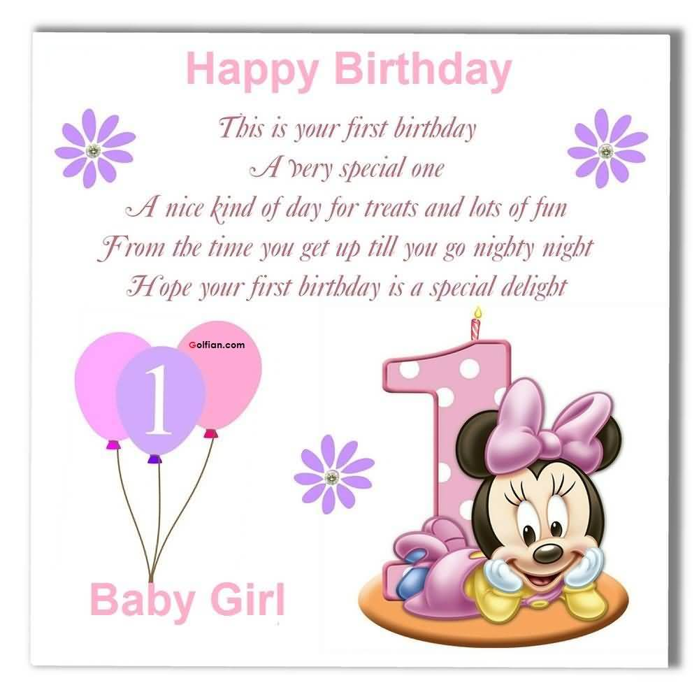 birthday message to baby daughter ; Nice-E-Card-Birthday-Wishes-For-Baby-Girl